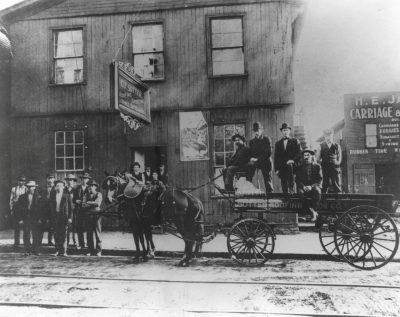 Sutter Roofing Office- Clarksburg, WV (Circa 1906)